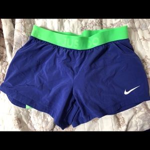 Brand new nike shorts with spandex